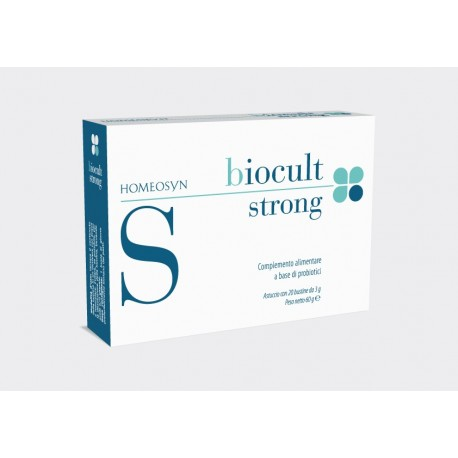 Integratore di probiotici Biocult Strong 20 bustine